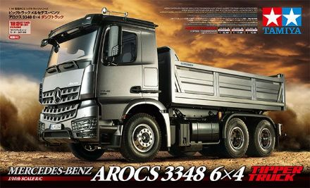 Tamiya Mercedes Arocs 3348 Tipper Truck Kit 1/14th 56357